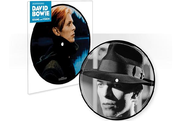 Un picture disc da 7″ festeggia i 40 anni di 'Sound and Vision' di David Bowie