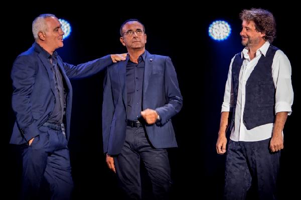 La comicità di Panariello, Conti e Pieraccioni al Lucca Summer Festival