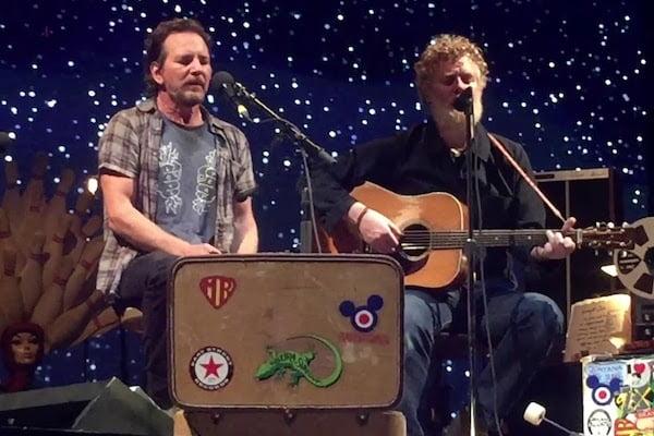 Glen Hansard & Eddie Vedder live a Firenze a giugno