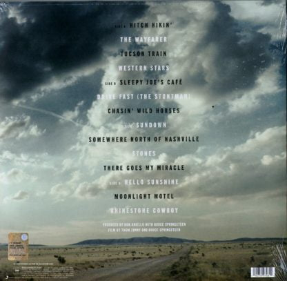 Bruce Springsteen - Western Stars - Songs from the Film retrocover
