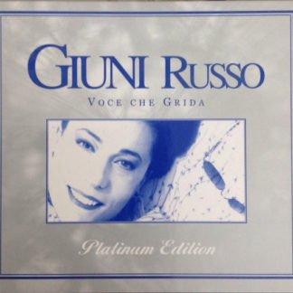 GIUNI RUSSO - VOCE CHE GRIDA - RETRO COVER