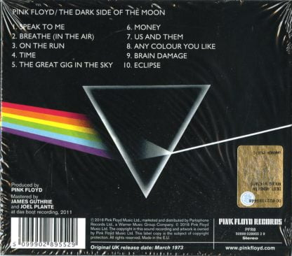 The dark side of the moon - retrocover