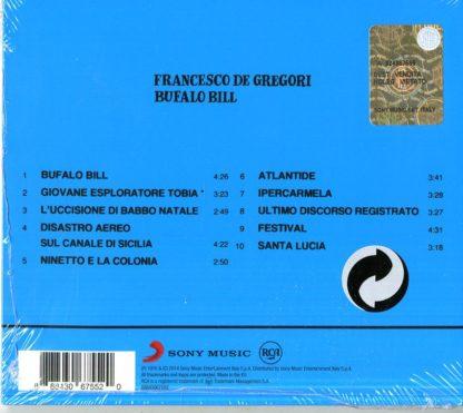 Francesco De Gregori - Bufalo Bill - retro