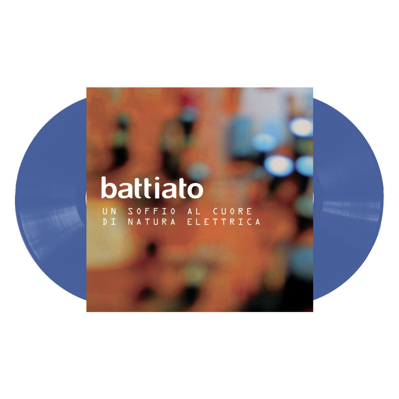 Franco Battiato - Un Soffio Al Cuore Di Natura Elettrica (Vinile Colorato Blu) (Rsd 2020)