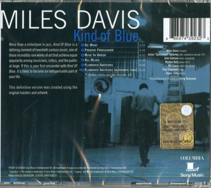 Miles Davis - Kind Of Blue - retro