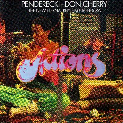 Penderecki & Don Cherry - Actions (Rsd 2020 Red Vinyl)