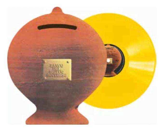 vinile giallo banco del mutuo soccorso rsd
