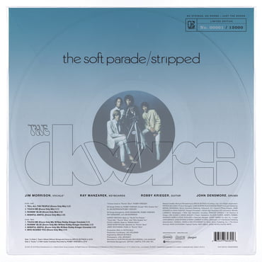 The Doors - The Soft Parade Stripped (Rsd 2020)