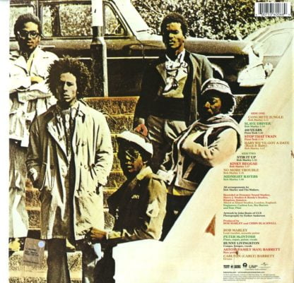 Bob Marley & The Wailers - Catch A Fire retrocover2