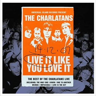 Charlatans - Live It Like You Love It (Rsd 2020)