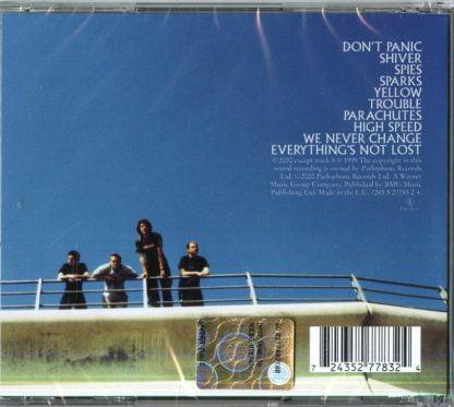 Coldplay - Parachutes retro cd