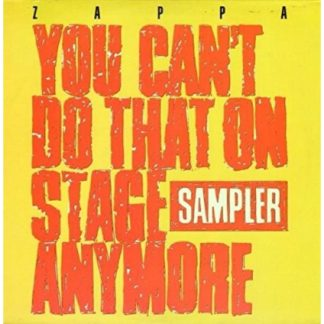 Frank Zappa - You Can'T Do That On Stage (Vinyl Yellow & Red) (Rsd 2020)