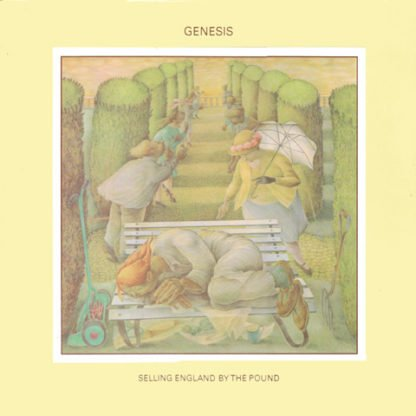 Genesis - Selling England By The Pound - cover lp