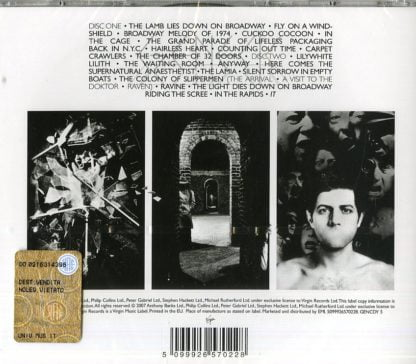 Genesis - The Lamb Lies Down On Broadway retro cd