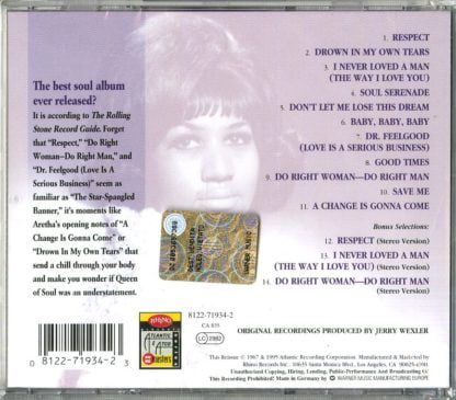 Aretha Franklin - I Never Loved A Man The Way I Love You3