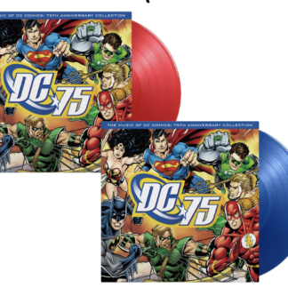 AA.VV. - The music of DC comics, 75th Anniversary Collection (Red or Blue Vinyl)