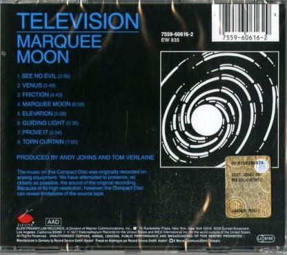 Television - Marquee Moon retro CD